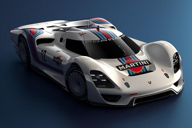 クラシックと現代を融合した仮想レーシングカー、ポルシェ「908/04ビジョン グランツーリスモ」