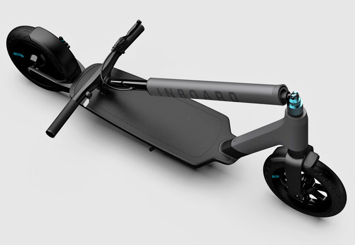 Inboard's new e-scooter packs swappable batteries
