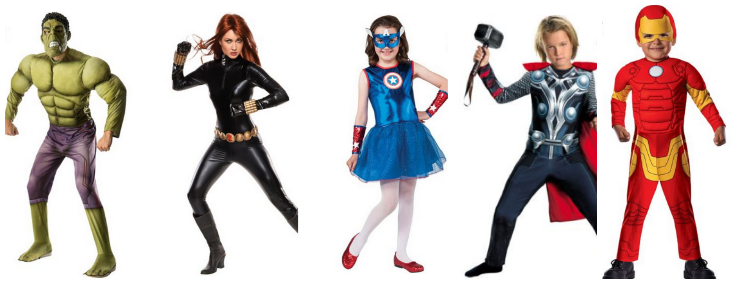 The Avengers Halloween Family Costume