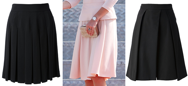 Kate Middleton's pink McQueen skirt