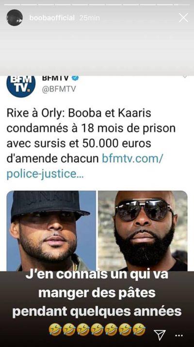 Booba n'a pas perdu de temps pour clasher Kaaris après l'annonce du
