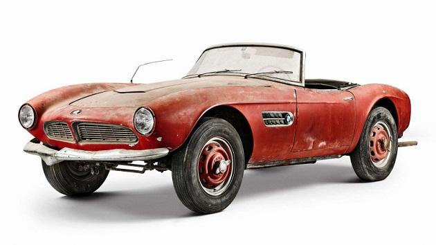BMW、納屋で発見された元エルヴィス・プレスリーの愛車「507」を完全レストア!