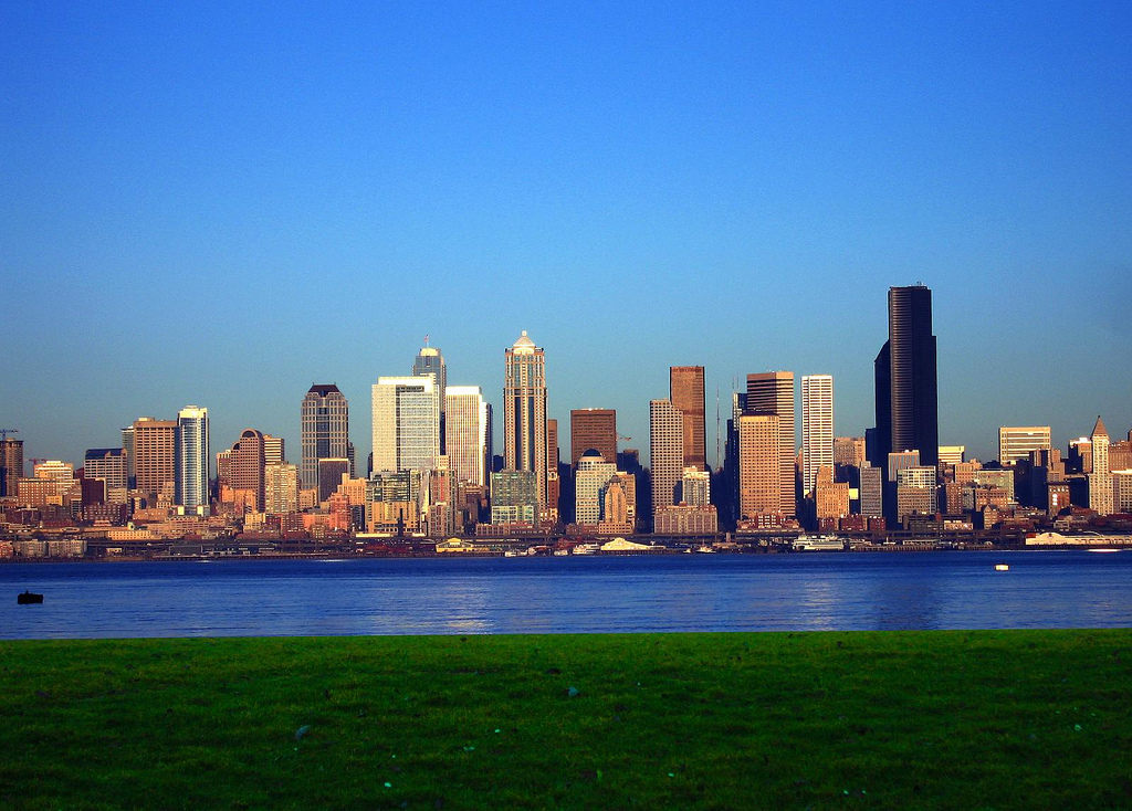 If You Ever Have Taken The Ferry, You Know That As The Boat Pulls Away From  The Ferry Terminal Across Elliott Bay, The Panoramic View Of Seattle Is ...