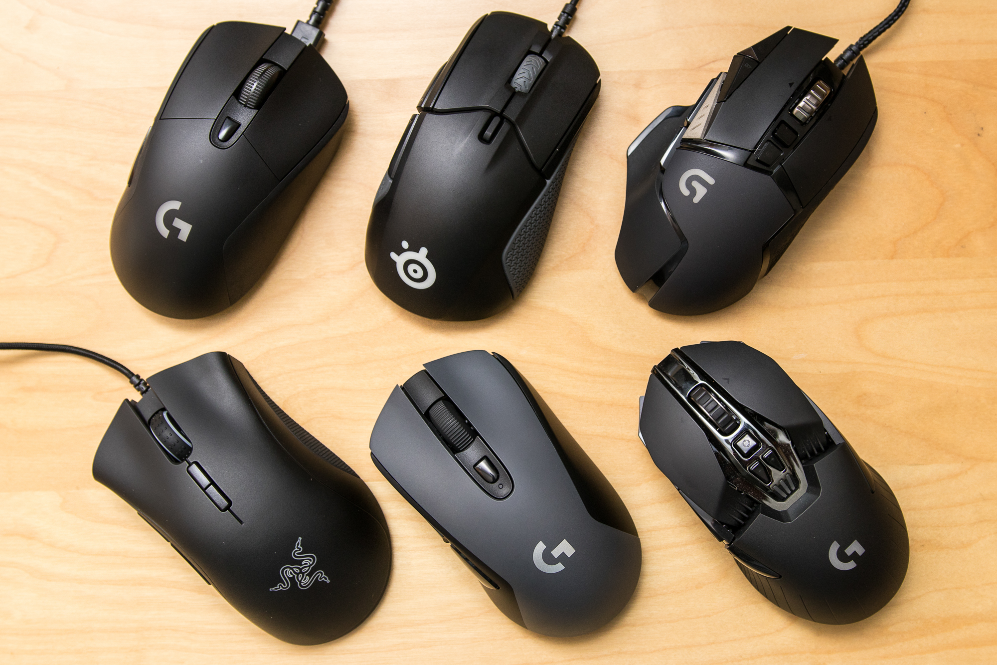 ae0ea04731c We tested wired and wireless gaming mice. Some looked like they belong on  Batman's utility belt and others were hardly any different than normal mice.