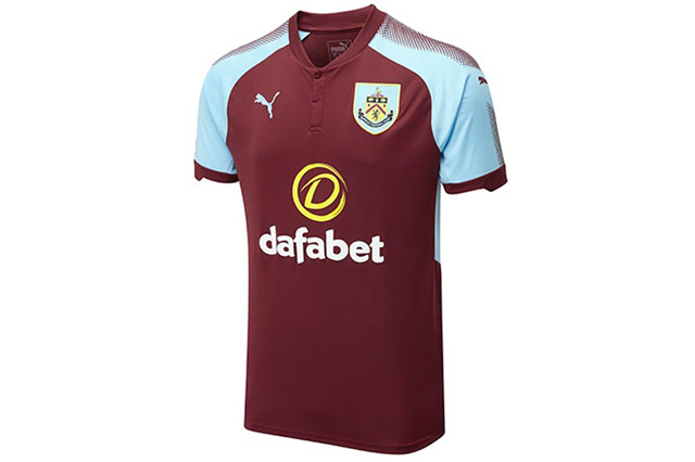 Burnley FC Home shirt 2017/18