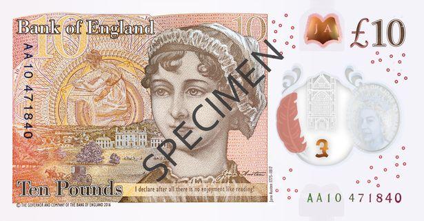 New £10 note hits banks this week