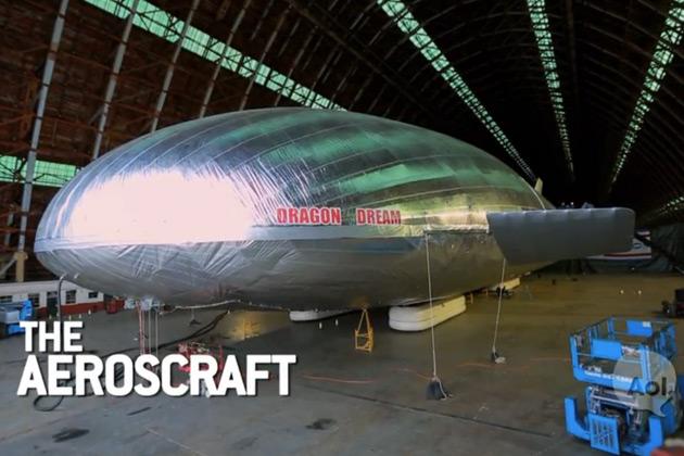 【字幕付きビデオ】貨物輸送の未来を変える? 超大型の次世代飛行船「エアロスクラフト」