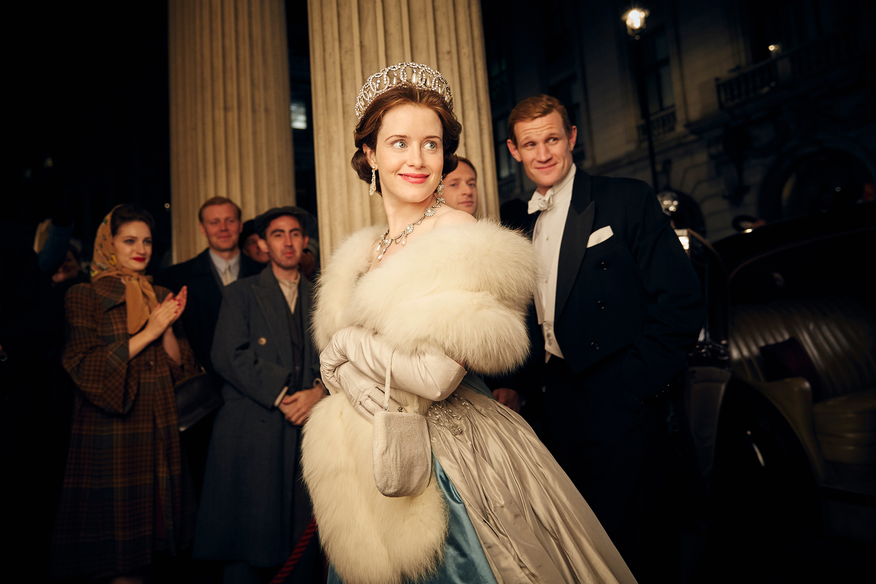 Netflix's 'The Crown' earns the lone streaming win at the SAG Awards