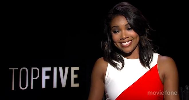 Gabrielle Union Top Five Interview
