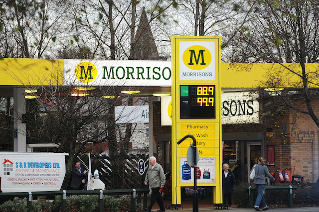 Morrisons slashes price of fuel for Black Friday