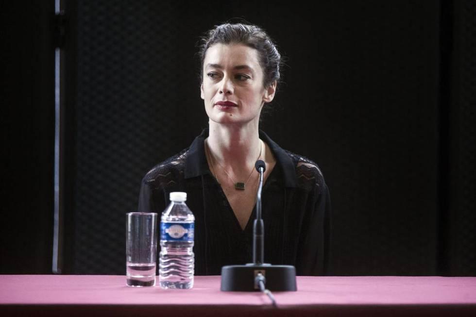 La directora Aurelie