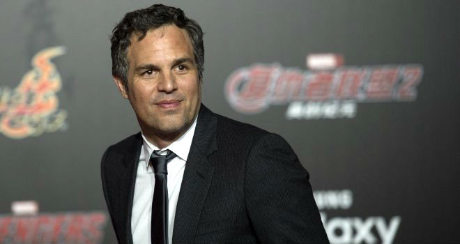 Mark Ruffalo attends the Chinese premiere of Avengers: Age of Ultron