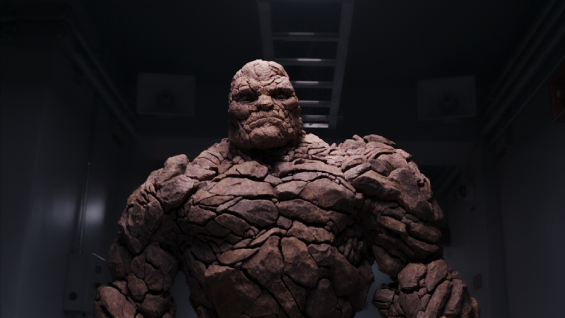 The Thing, Jamie Bell, Fantastic Four