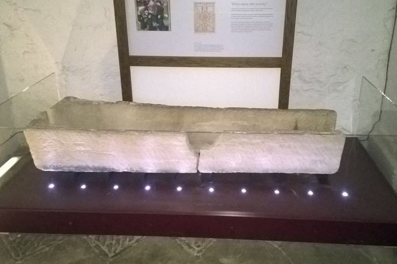 Family damage 800-year-old coffin for tourist