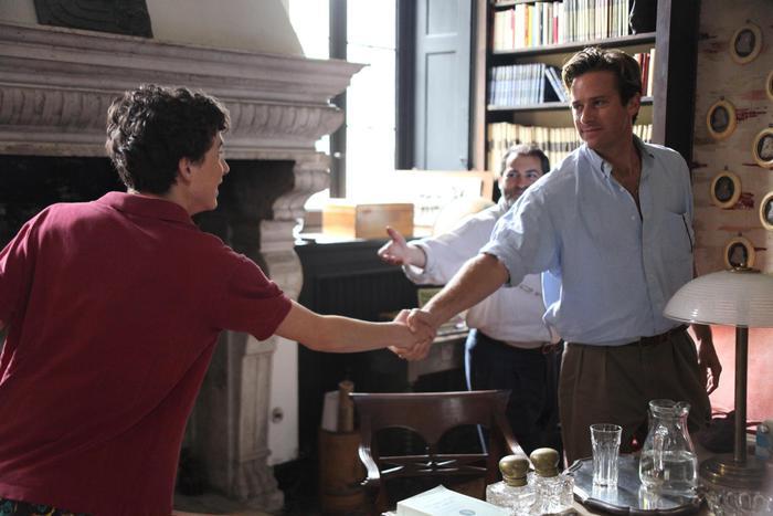 Una foto di scena tratta dal film 'Call Me by your Name' (Chiamami col tuo nome) di Luca Guadagnino premiato...