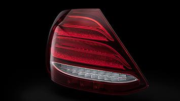 Mercedes E-Class taillights