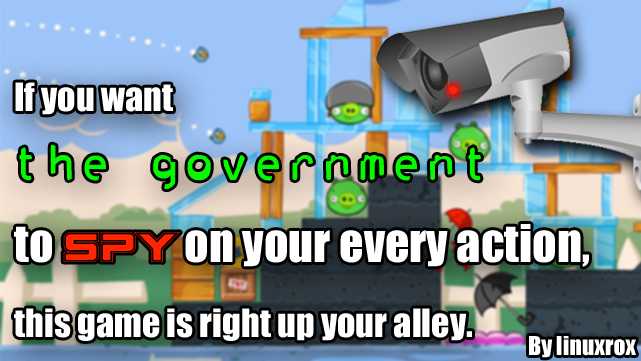 if you want the government to spy on your every action this game is right up your alley