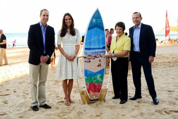 royal-tour-kate-middleton-beach-manly-australia