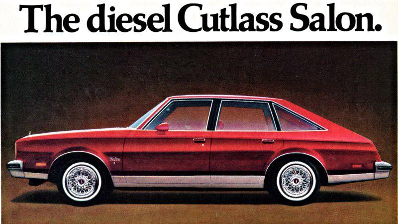 Oldsmobile Cutlass ad