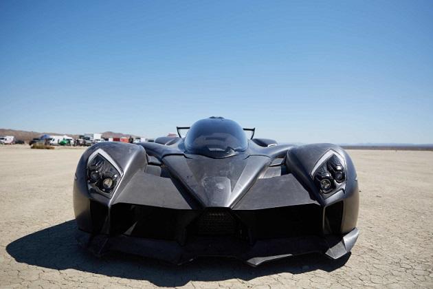 【ビデオ】米国のスタートアップが開発した電動ハイパーカー「タキオン・スピード」は1,250馬力、最高速度386km/h以上!