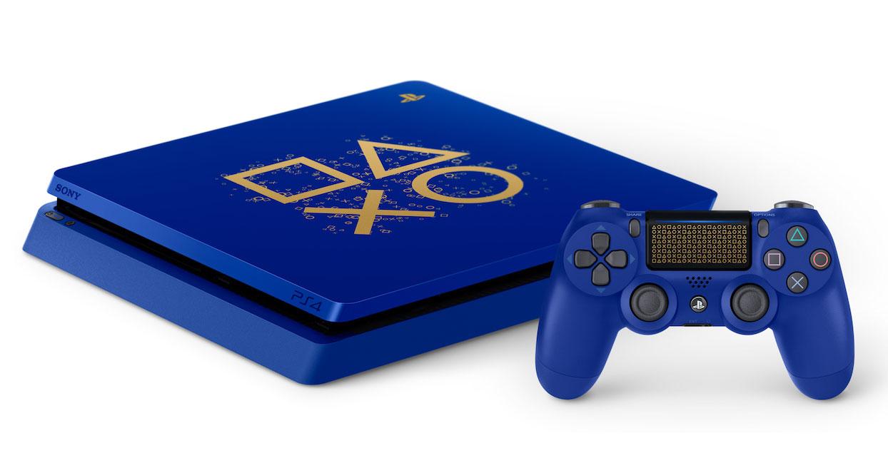这是索尼为今年 E3 准备的「Days of Play」限定 PS4