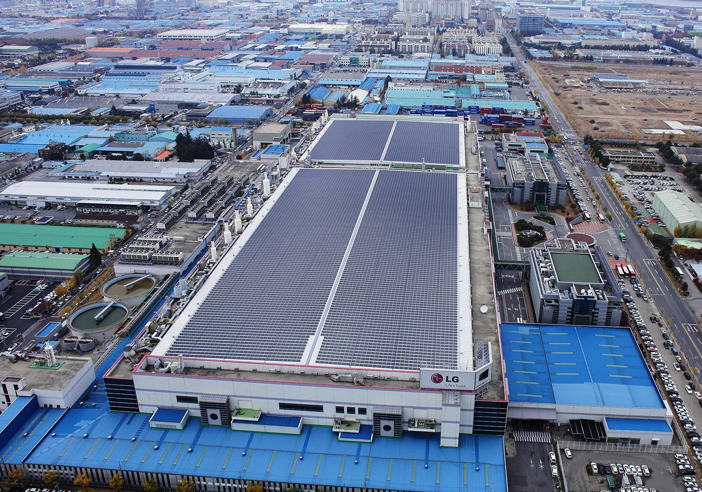 LG 希望在 2020 年將太陽能電池板產量提升至現有的三倍