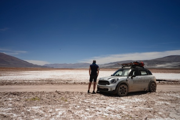 Mini Countryman in the Andes