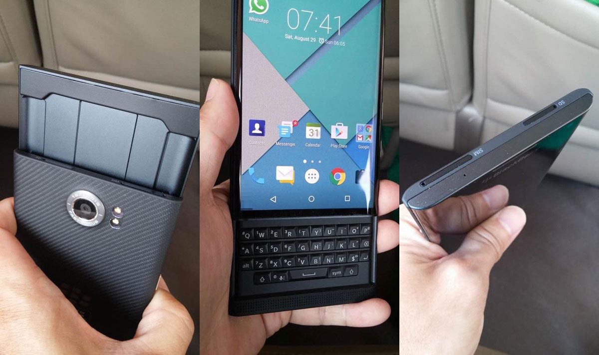 Phone Blackberry On Android Phone blackberry confirms priv android phone will launch this year