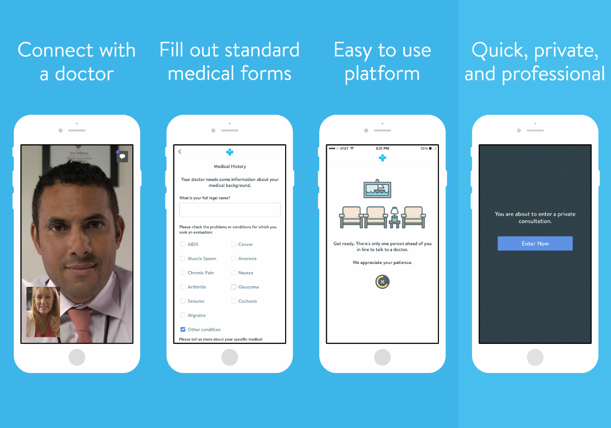 The Eazemd App Lets You Consult A Weed Doctor On Your Phone