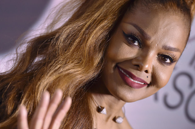 Janet Jackson assiste à l'after party de sa tournée mondiale State of the World le 8 octobre 2017 à Los...