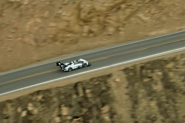 【ビデオ】フォルクスワーゲン、パイクスピークで史上最速タイムを達成した「I.D. R Pikes Peak」の空撮映像を公開!