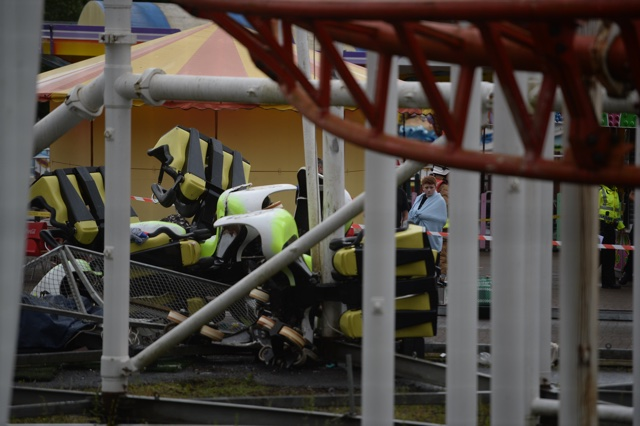 Tsunami ride accident: Several hurt as rollercoaster derails