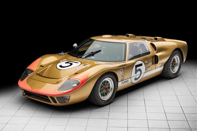 1966年のル・マンで1位から3位を独占したフォード「GT40」の1台がオークションに!