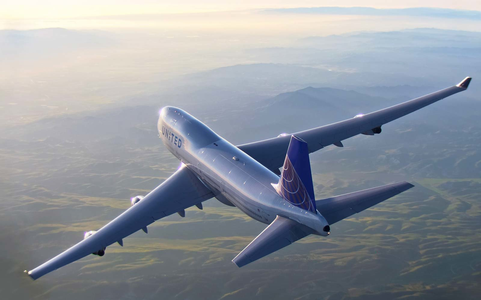 747 air to air