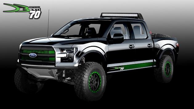 フォードのモンスターマシン、「F-150 ラプター」と「スーパーデューティ」トラックの数々をSEMAに追加出展!