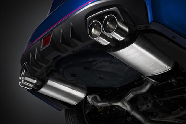 ニュル24時間レース優勝記念 スバル「WRX STI 」用エキゾーストキットがSTIから新発売!!