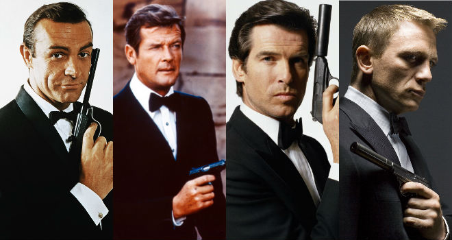 ranking the james bond actors from worst to best moviefone