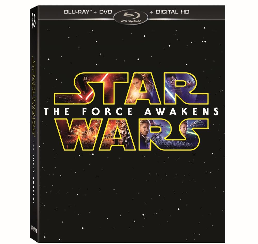 Star Wars: The Force Awakens Blu-ray box