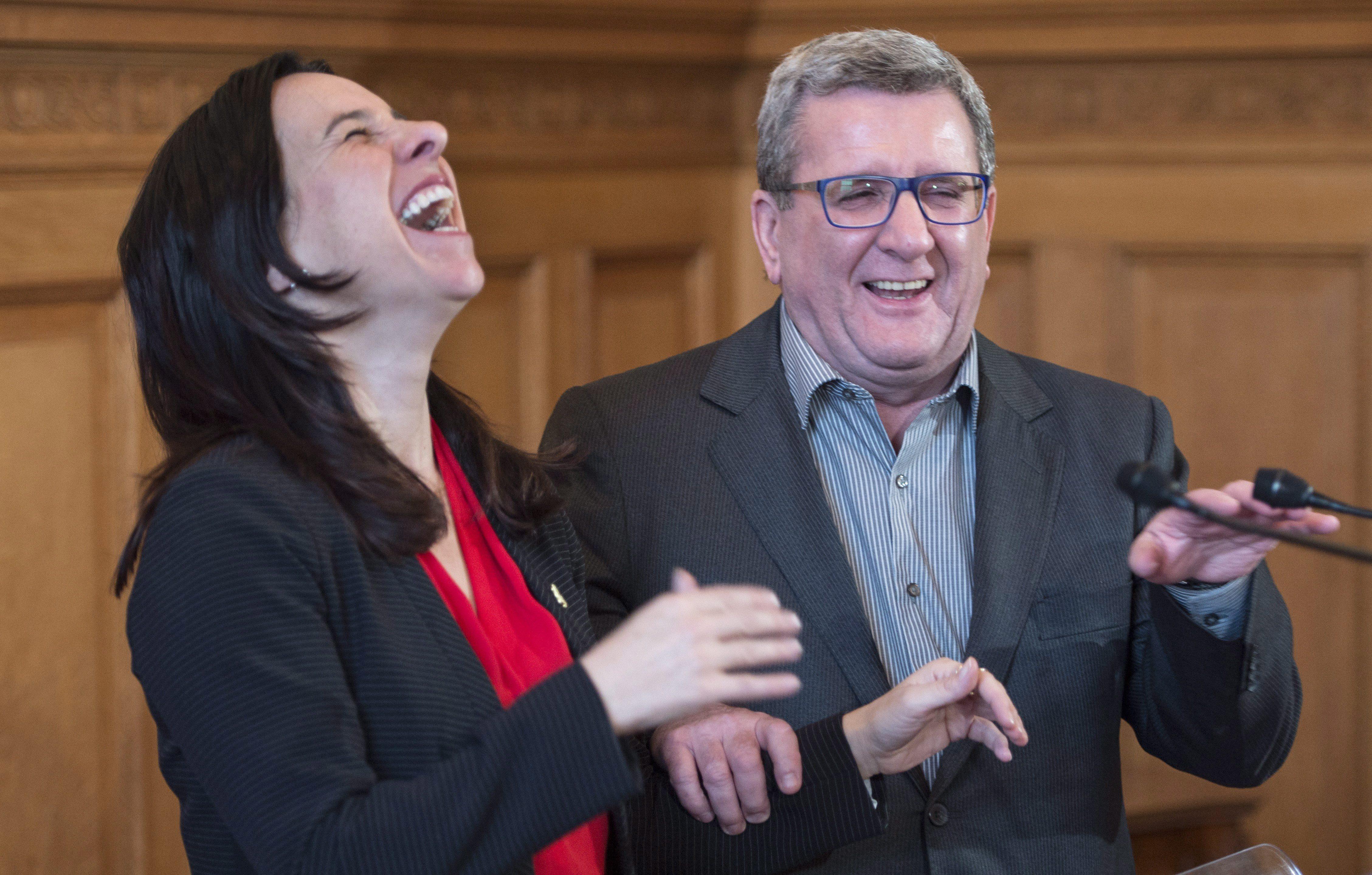 Le partenariat Montréal-Québec se poursuivra, selon Valérie Plante et Régis