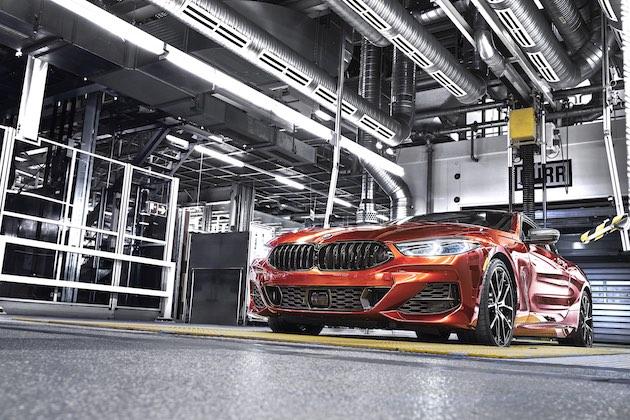 BMW、新型「8シリーズ クーペ」の生産をドイツ・バイエルン州ディンゴルフィング工場で開始!