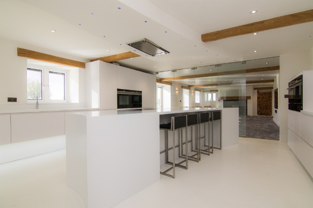 Barn conversion in south Wales
