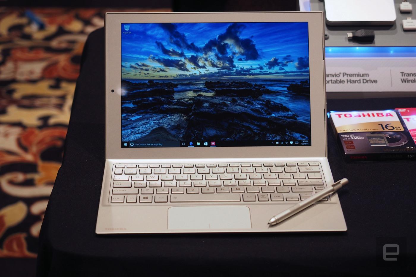 Toshiba DynaPad 動手玩:又一個 Surface 競爭者
