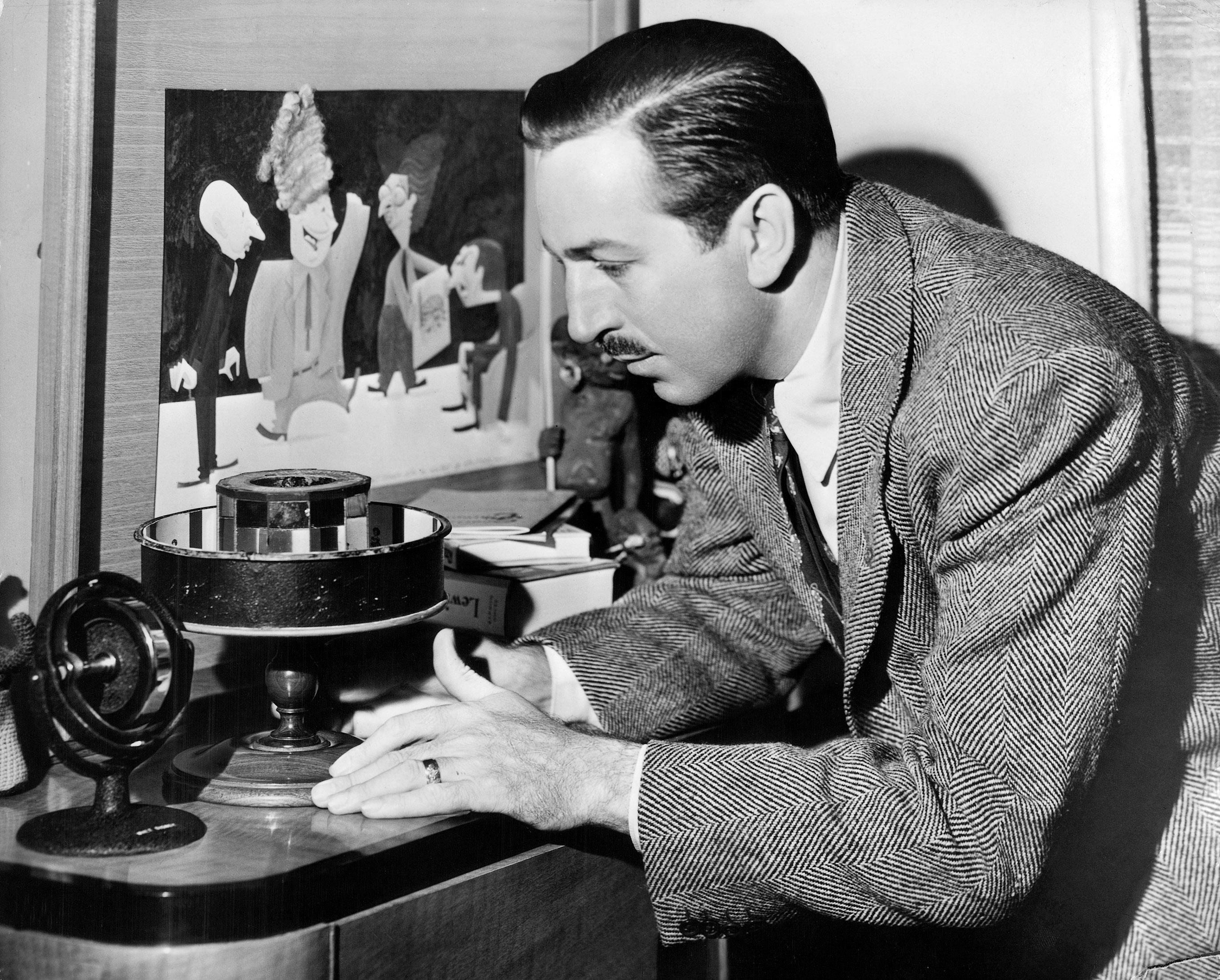 American producer Walt Disney (1901-1966) c. 1945