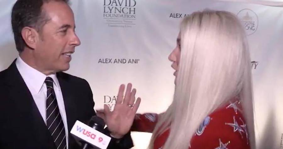 Jerry Seinfeld explains Kesha hug snub