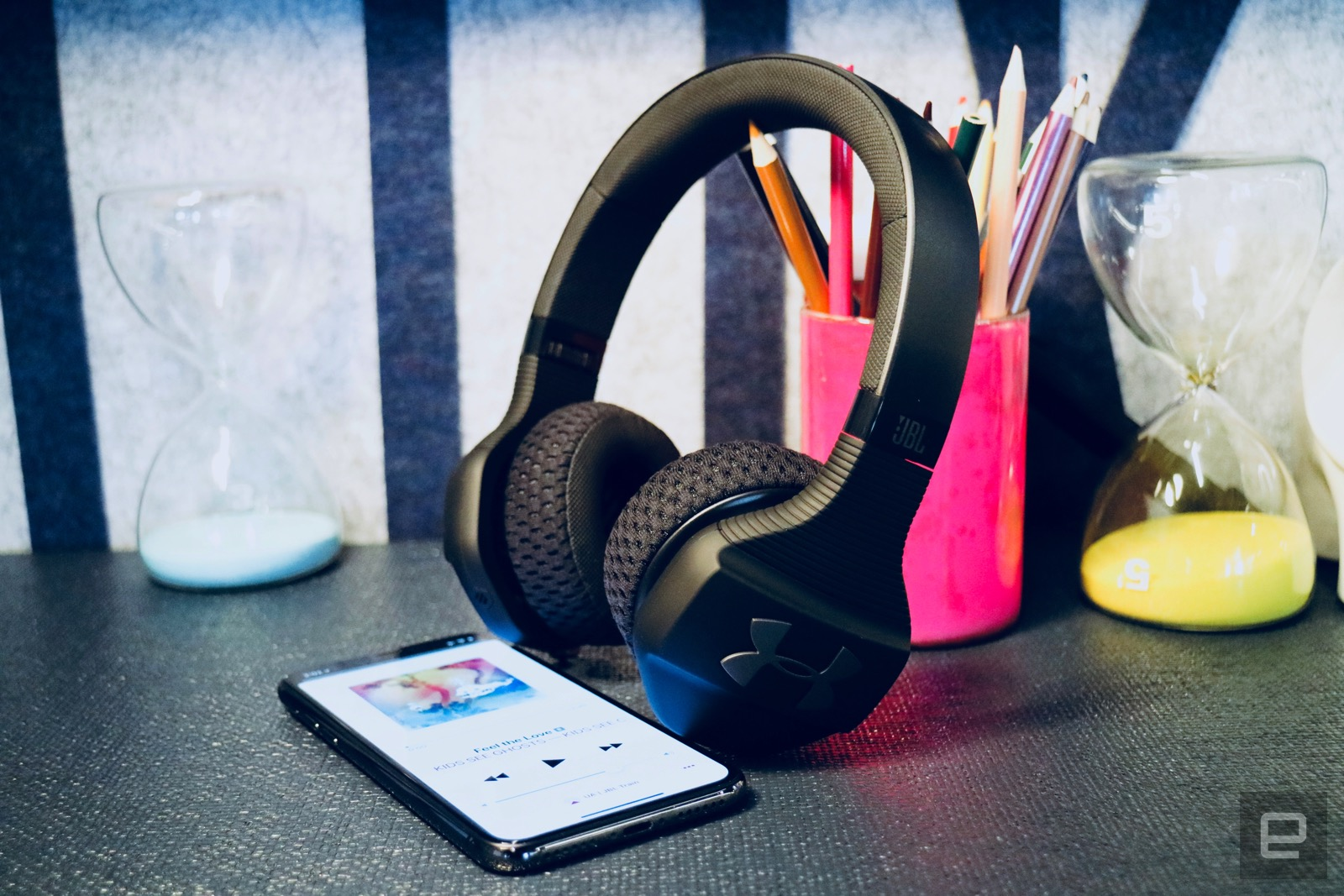 99ec2c8c05e Last month, Under Armour launched its Project Rock on-ear headphones, which  are built for intense workouts and were designed in collaboration with  Dwayne ...