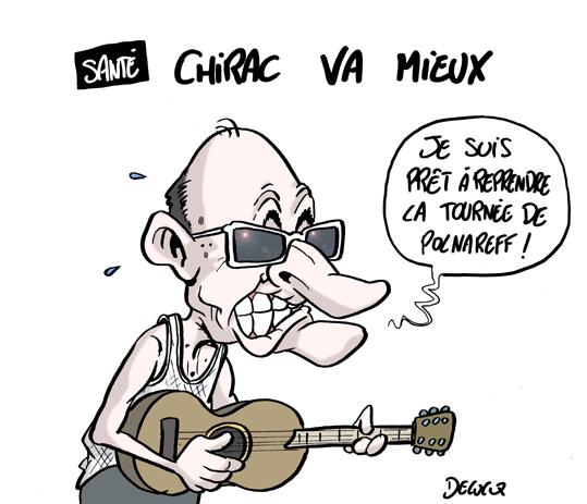 Puisqu'on vous dit que Jacques Chirac va