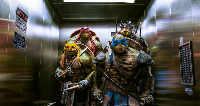box office teenage mutant ninja turtles