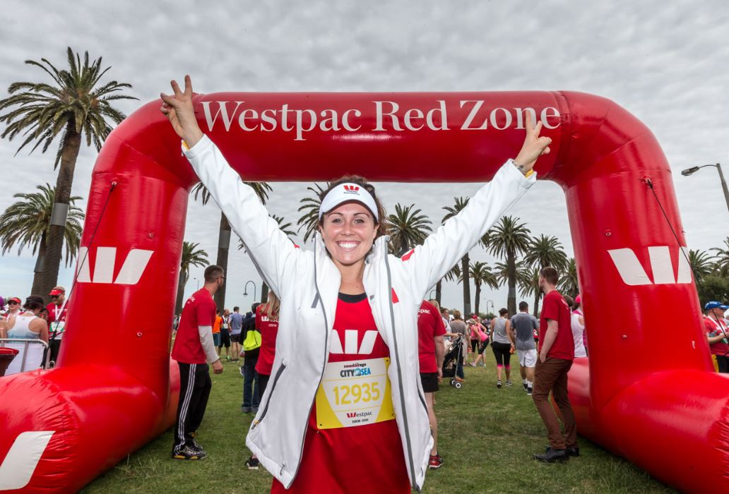 Chloe survived the Westpac City2Sea, sponsored by the Westpac Foundation -- a not-for-profit organisation...