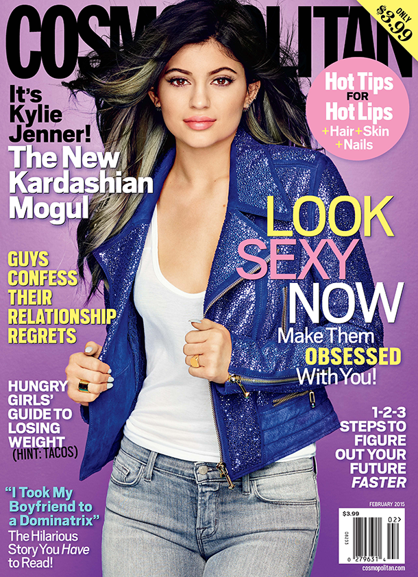 Kylie Jenner for Cosmo