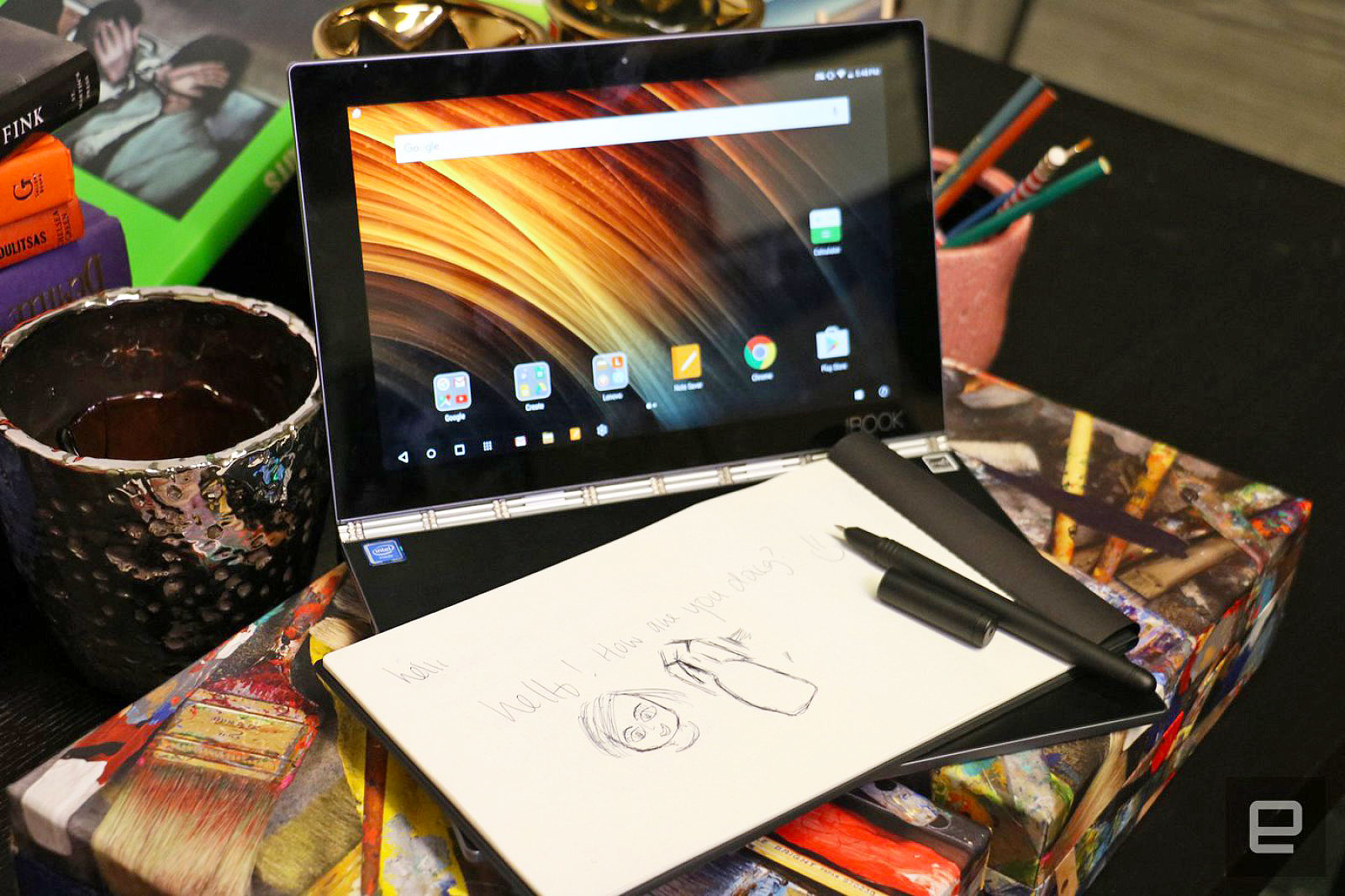 The Bottom Line Our Quick Verdict On The Lenovo Yoga Book Engadget